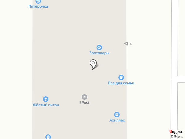 Аква Ангел на карте Долгопрудного
