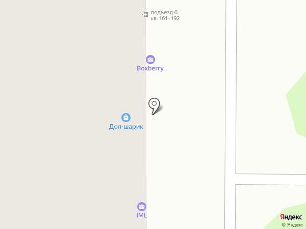 Магазин нижнего белья на карте Долгопрудного
