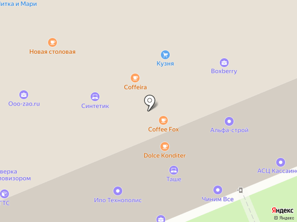 SystemPro на карте Москвы