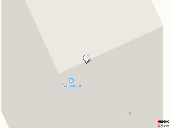 Гриф Гарант на карте Москвы
