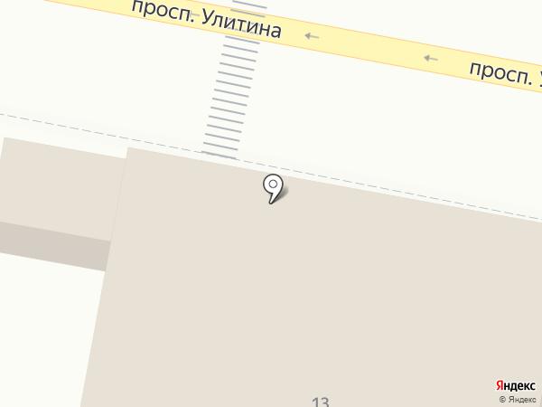 Магазин стройматериалов на карте Первомайского