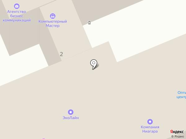 Компания ЭЛКОМ на карте Москвы