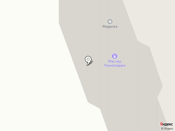Перчик на карте Долгопрудного