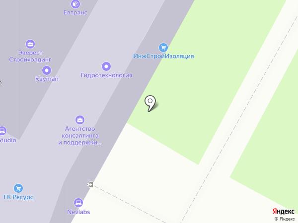 Hydrocowork на карте Москвы