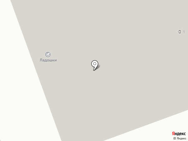 Гарант на карте Долгопрудного