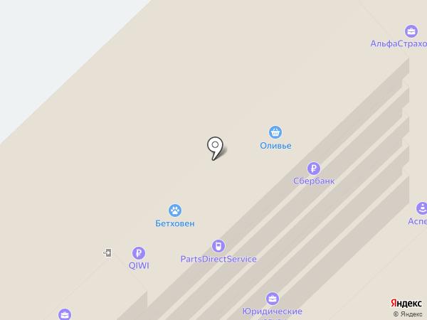 Связной на карте Москвы