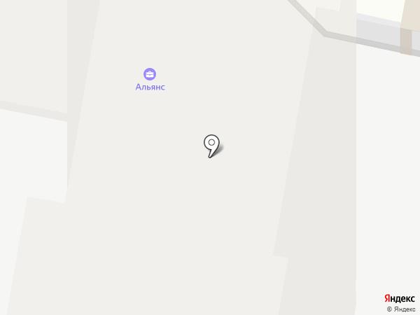 АЛЬЯНС на карте Подольска