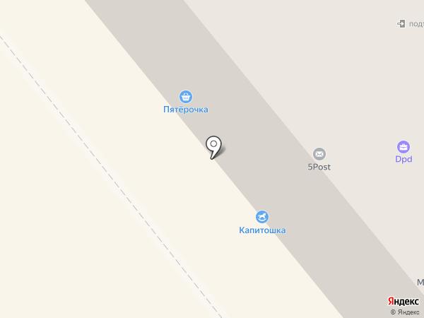 Банкомат, Среднерусский банк Сбербанка России на карте Щёкино