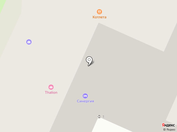 Лабиринт на карте Москвы