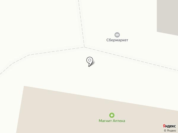 Отражение на карте Подольска