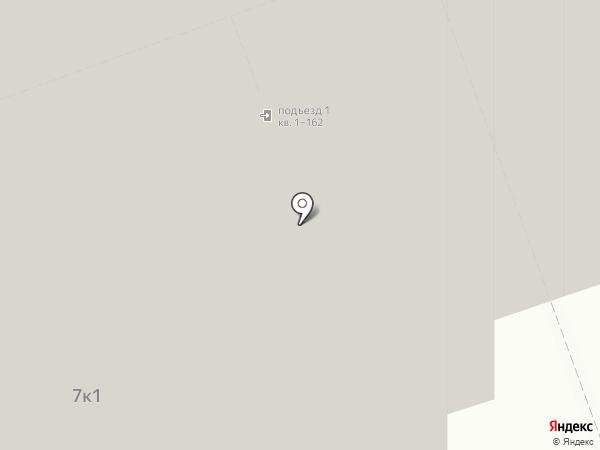 Центральный на карте Долгопрудного