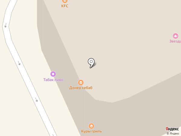 Рус-Телетот на карте Москвы