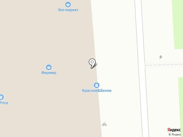 Магазин хлебобулочных изделий на карте Подольска