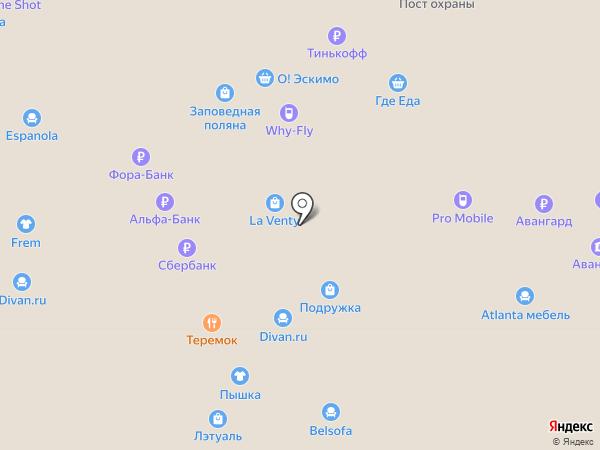 Брадо-Обувь на карте Москвы