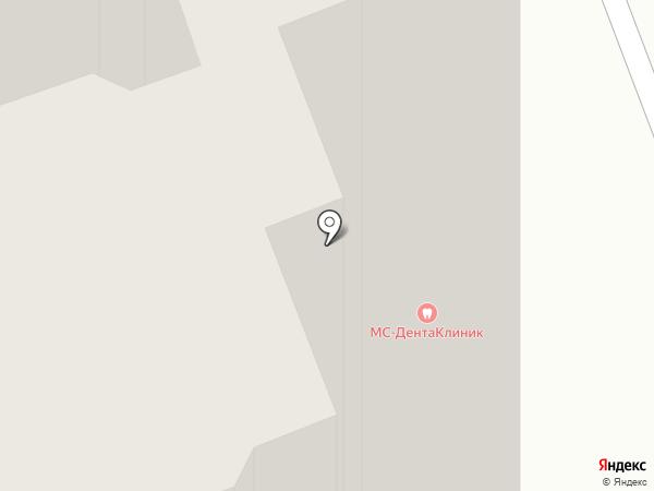 Двери Зодчий на карте Долгопрудного
