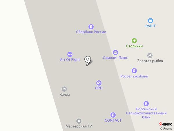 Art of Fight на карте Долгопрудного
