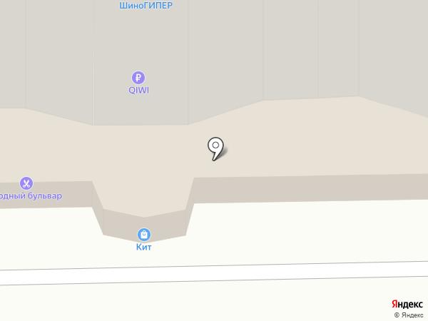 Мосплитка на карте Долгопрудного
