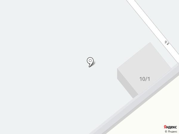 Автостоянка на ул. Лукашина на карте Щёкино