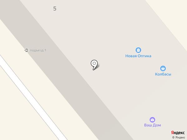 Багира на карте Щёкино