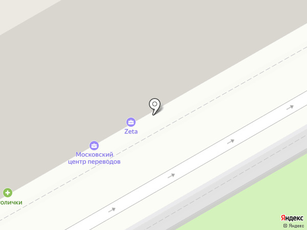 Оценочная компания на карте Москвы