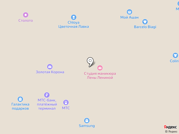 Банкомат, КБ Ситибанк на карте Москвы