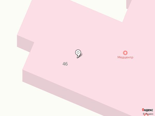 Тульский областной наркологический диспансер №1 на карте Щёкино