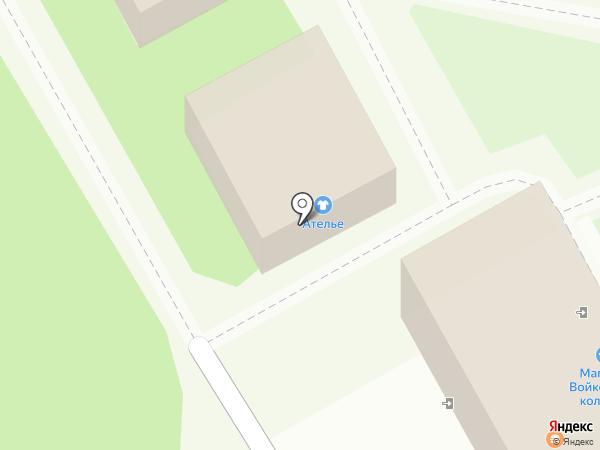 Дом быта на карте Подольска