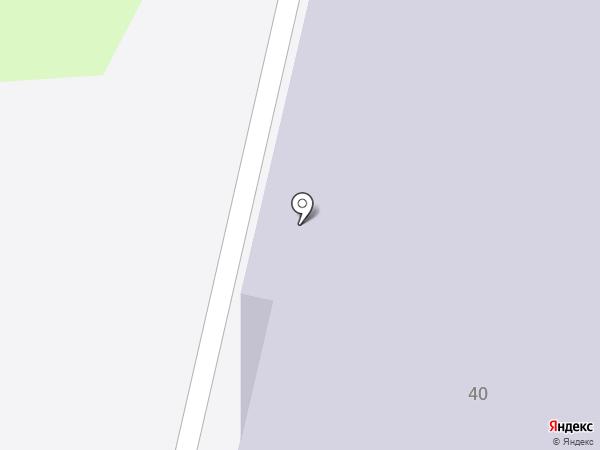 Гепард на карте Щёкино