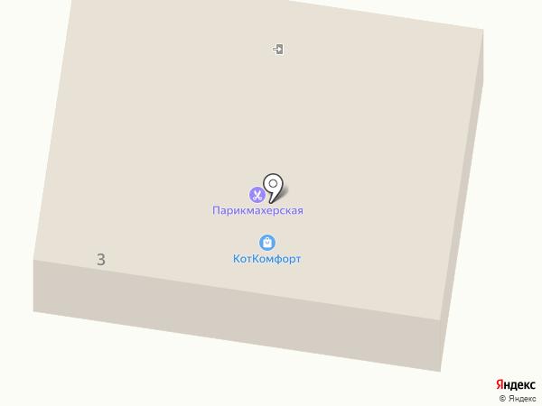 Березка, ЗАО на карте Первомайского