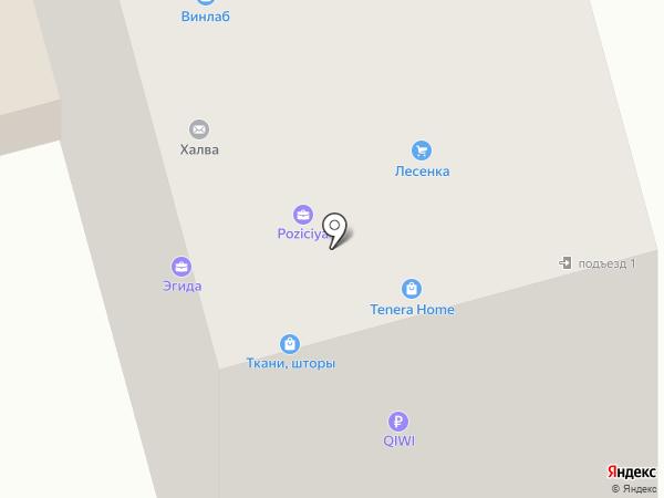 Свет на карте Долгопрудного