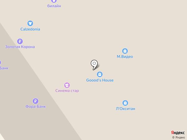 TAKE AWAY на карте Москвы