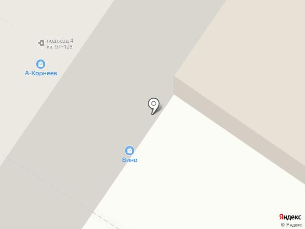 Магазин алкогольной продукции на карте Москвы