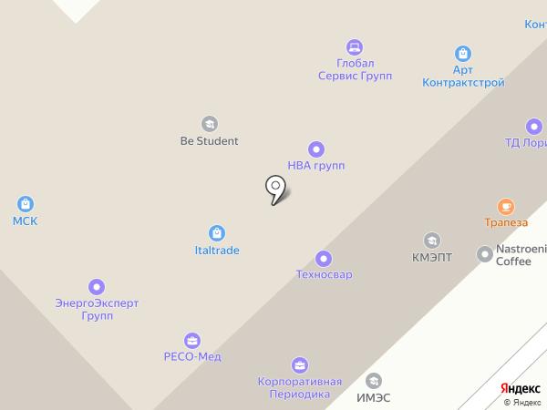 АртКонтрактСтрой на карте Москвы