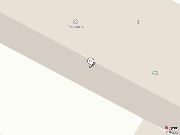 Отдел МВД России по Щёкинскому району на карте Щёкино
