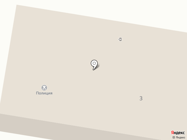 Участковый пункт полиции Первомайский на карте Первомайского