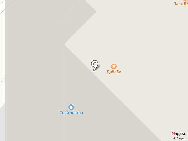 Эклер на карте Москвы