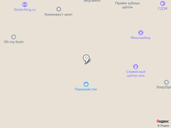 Люкс Флора на карте Москвы