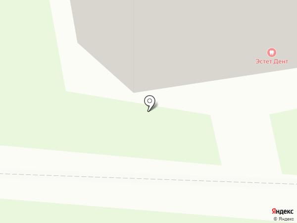 ЭдитА на карте Долгопрудного