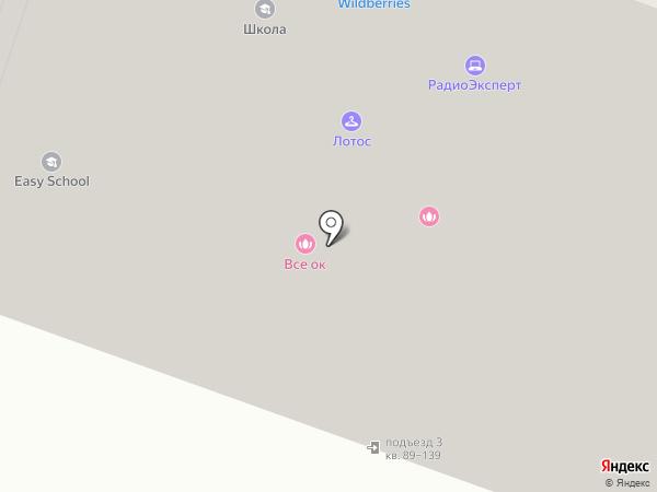 Лаговское на карте Москвы