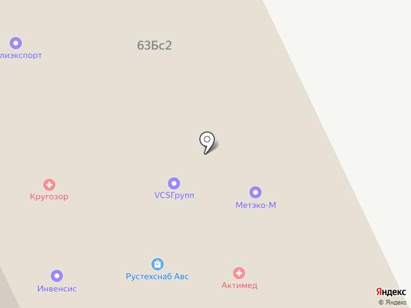 Terex на карте Москвы
