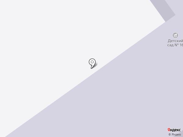 Детский сад №16 на карте Щёкино