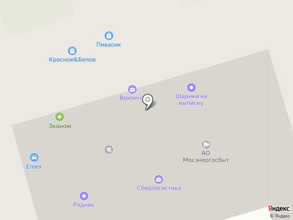 Колледж на карте Долгопрудного