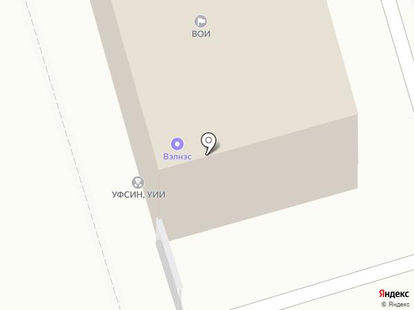 Отдел вневедомственной охраны на карте Долгопрудного