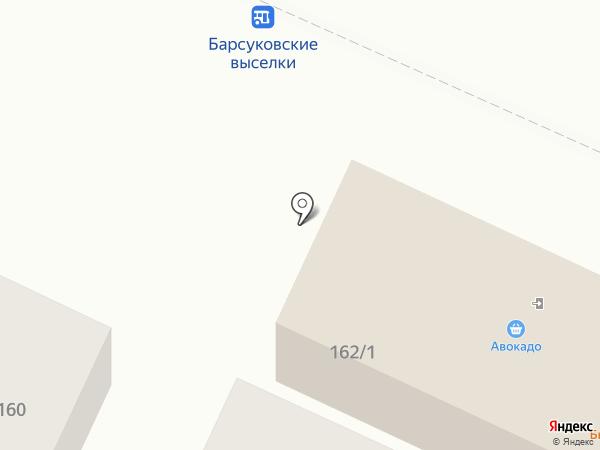 Магазин гор на карте Барсуков