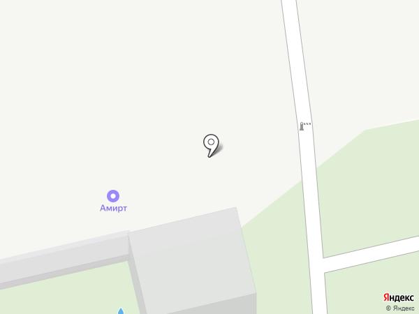 Долгопрудненское кладбище на карте Долгопрудного
