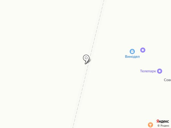 Аквасфера на карте Щёкино
