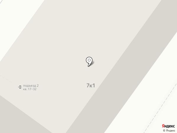 Я, мама, папа на карте Москвы