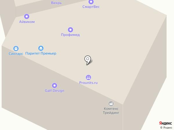 СмартВес на карте Долгопрудного