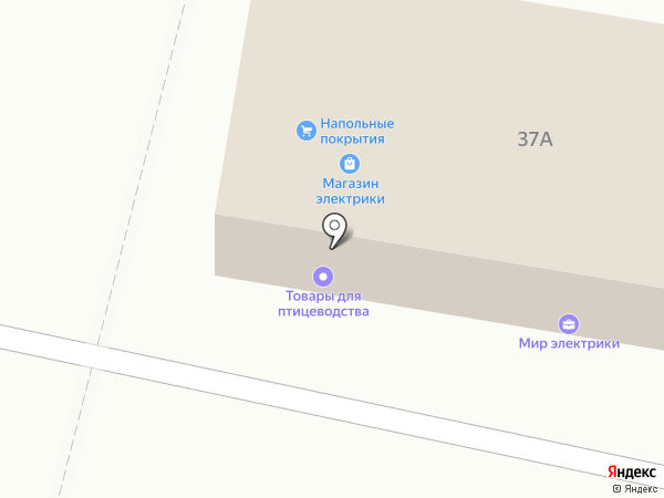 Модерн на карте Щёкино