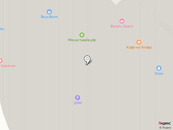 Марк на карте Москвы